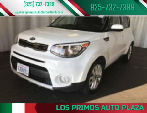 2018 Kia Soul for sale at Los Primos Auto Plaza in Antioch CA