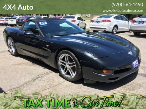 2003 Chevrolet Corvette for sale at 4X4 Auto Sales in Durango CO