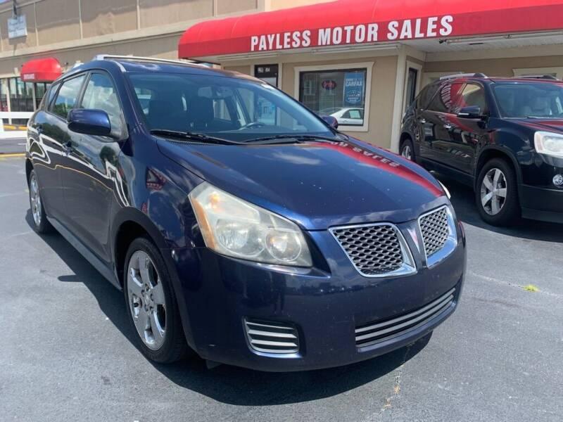 2009 Pontiac Vibe for sale at Payless Motor Sales LLC in Burlington NC