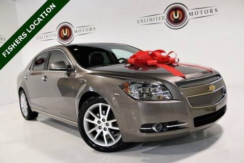 2012 Chevrolet Malibu for sale at Unlimited Motors in Fishers IN