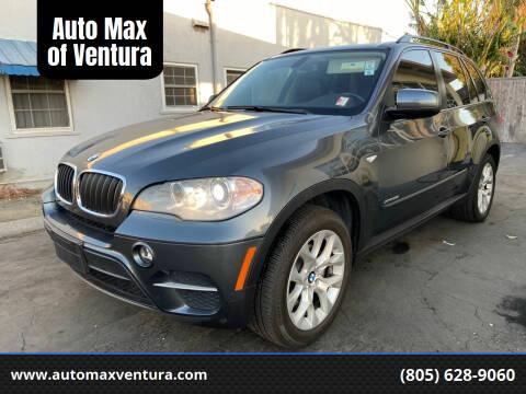 2013 BMW X5 for sale at Auto Max of Ventura - Automax 3 in Ventura CA