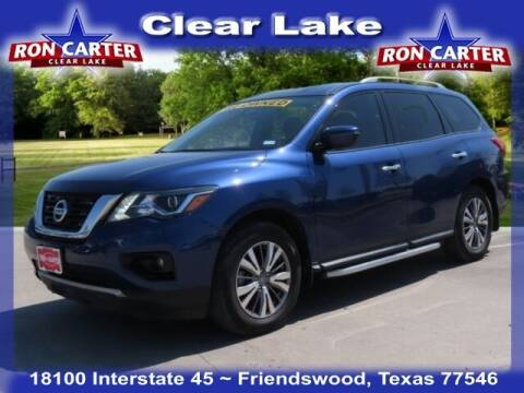 2019 Nissan Pathfinder for sale at Ron Carter  Clear Lake Used Cars in Houston TX