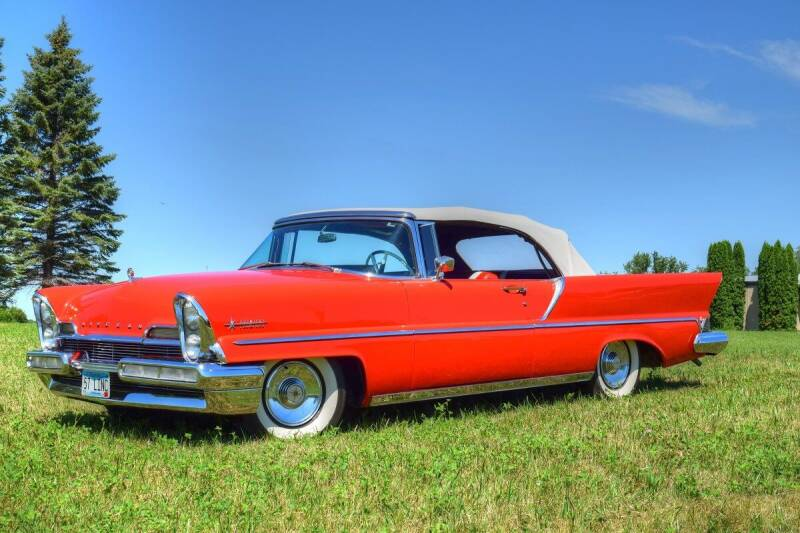 1957 Lincoln Premiere for sale at Hooked On Classics in Watertown MN
