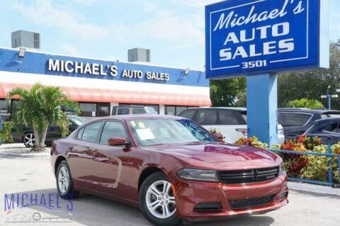 2018 Dodge Charger for sale at Michael's Auto Sales Corp in Hollywood FL