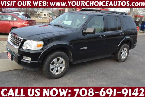 2008 Ford Explorer for sale at Your Choice Autos - Crestwood in Crestwood IL