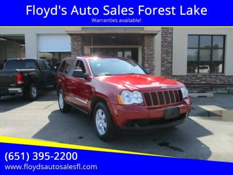 2010 Jeep Grand Cherokee for sale at Floyd's Auto Sales Forest Lake in Forest Lake MN