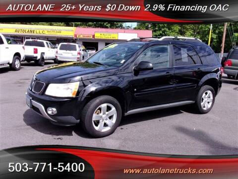 2006 Pontiac Torrent for sale at Auto Lane in Portland OR