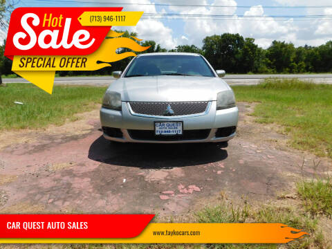 2011 Mitsubishi Galant for sale at CAR QUEST AUTO SALES in Houston TX