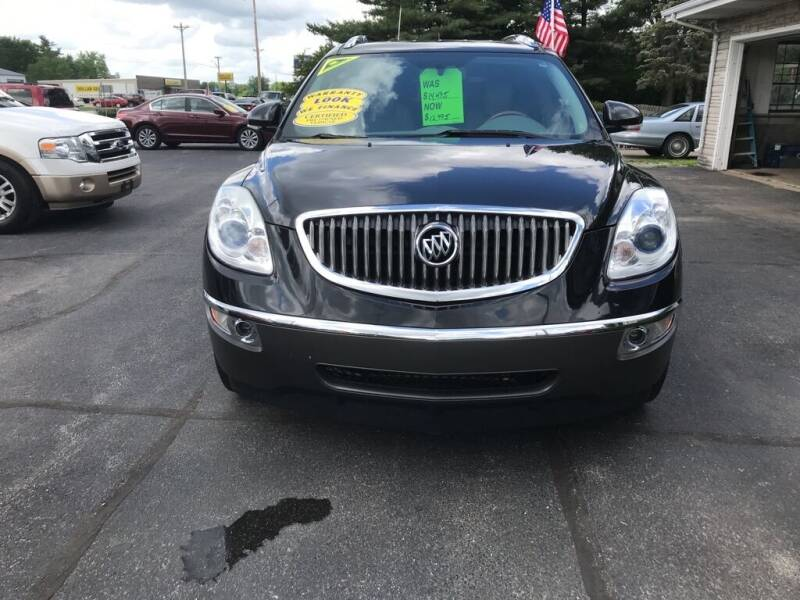 2012 Buick Enclave for sale at Tonys Auto Sales Inc in Wheatfield IN