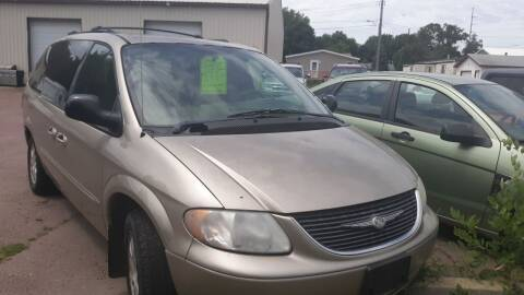 2003 Chrysler Town and Country for sale at ZITTERICH AUTO SALE'S in Sioux Falls SD