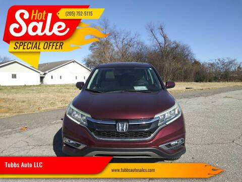 2016 Honda CR-V for sale at Tubbs Auto LLC in Tuscaloosa AL