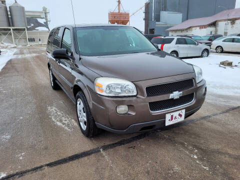2008 Chevrolet Uplander for sale at J & S Auto Sales in Thompson ND
