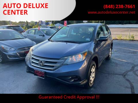 2013 Honda CR-V for sale at AUTO DELUXE CENTER in Toms River NJ