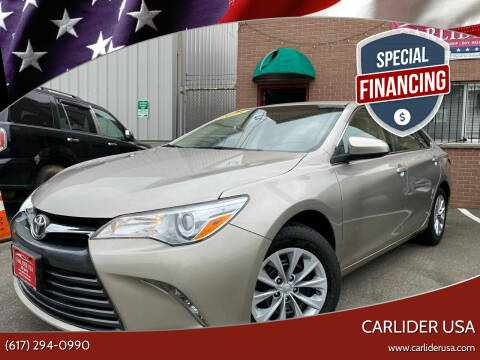 2015 Toyota Camry for sale at Carlider USA in Everett MA