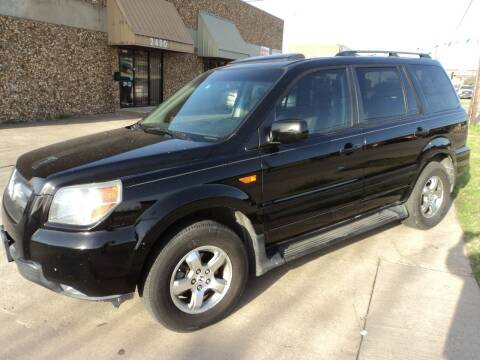 2007 Honda Pilot for sale at SPORT CITY MOTORS in Dallas TX