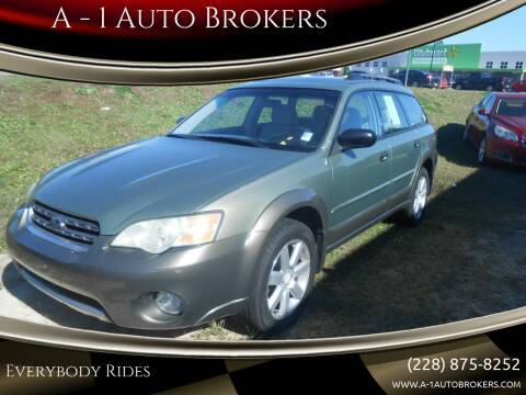 2007 Subaru Outback for sale at A - 1 Auto Brokers in Ocean Springs MS