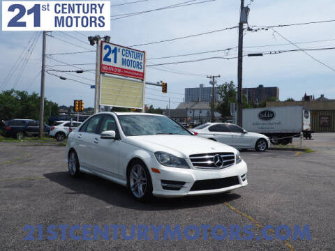 2014 Mercedes-Benz C-Class for sale at 21st Century Motors in Fall River MA
