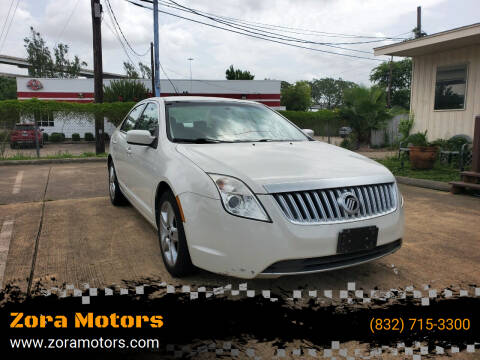2010 Mercury Milan for sale at Zora Motors in Houston TX