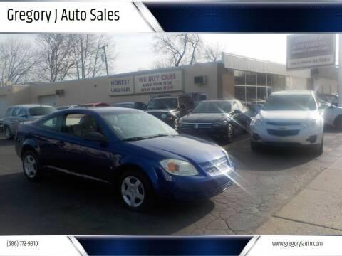 2006 Chevrolet Cobalt for sale at Gregory J Auto Sales in Roseville MI