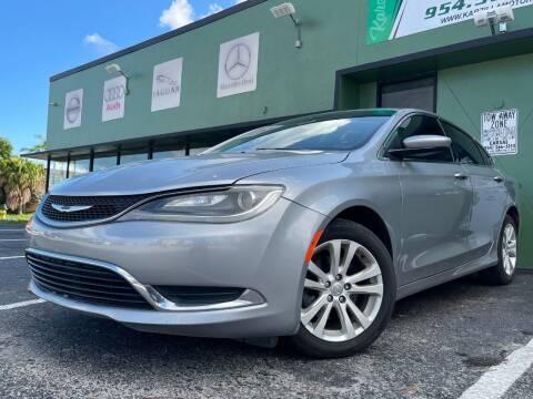 2015 Chrysler 200 for sale at KARZILLA MOTORS in Oakland Park FL