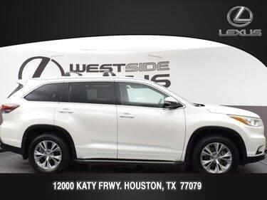 2014 Toyota Highlander for sale at LEXUS in Houston TX