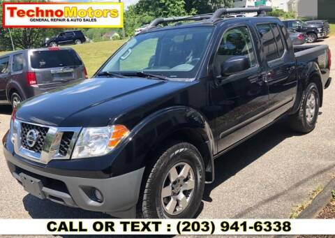 2013 Nissan Frontier for sale at Techno Motors in Danbury CT