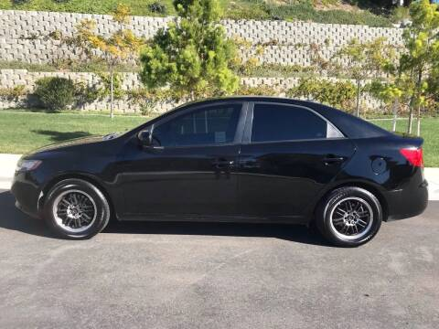 2012 Kia Forte for sale at CALIFORNIA AUTO GROUP in San Diego CA