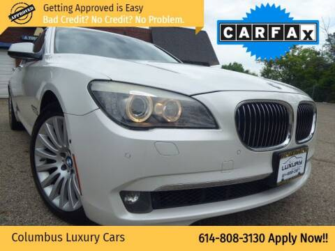 2010 BMW 7 Series for sale at Columbus Luxury Cars in Columbus OH