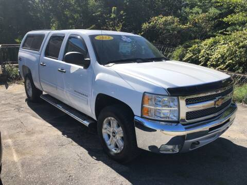 2012 Chevrolet Silverado 1500 for sale at Oxford Auto Sales in North Oxford MA