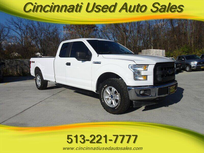 2017 Ford F-150 for sale at Cincinnati Used Auto Sales in Cincinnati OH