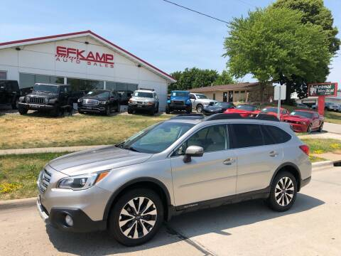2015 Subaru Outback for sale at Efkamp Auto Sales LLC in Des Moines IA