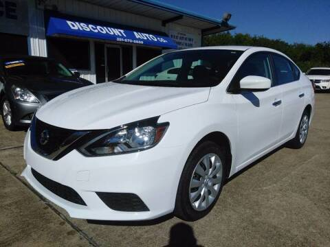 2016 Nissan Sentra for sale at Discount Auto Company in Houston TX