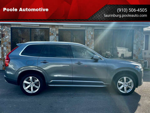 2020 Volvo XC90 for sale at Poole Automotive in Laurinburg NC