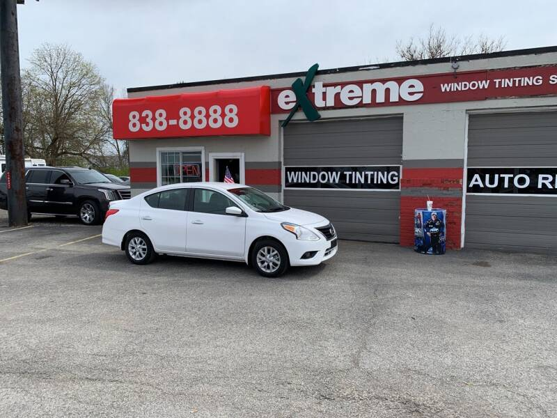 2019 Nissan Versa for sale at Extreme Auto Sales in Plainfield IN