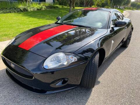 2008 Jaguar XK-Series for sale at Donada  Group Inc in Arleta CA