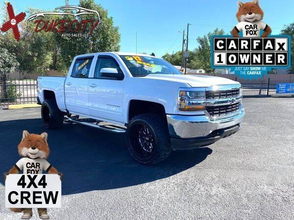 2017 Chevrolet Silverado 1500 for sale at DUKE CITY AUTO SALES in Albuquerque NM