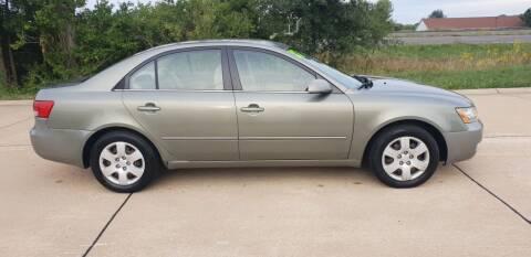 2007 Hyundai Sonata for sale at J L AUTO SALES in Troy MO