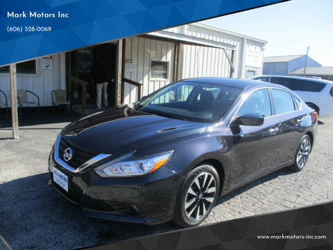 2018 Nissan Altima for sale at Mark Motors Inc in Gray KY