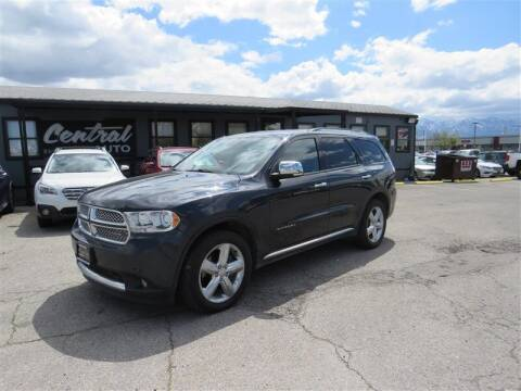 2013 Dodge Durango for sale at Central Auto in South Salt Lake UT