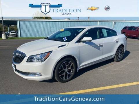 2016 Buick LaCrosse for sale at Tradition Chevrolet Buick in Geneva NY