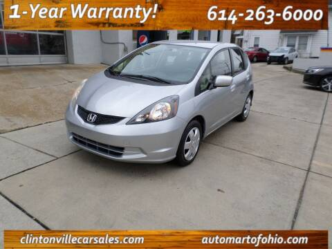 2013 Honda Fit for sale at Clintonville Car Sales in Columbus OH