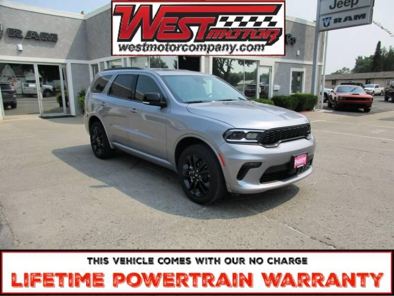2021 Dodge Durango for sale at West Motor Company in Preston ID