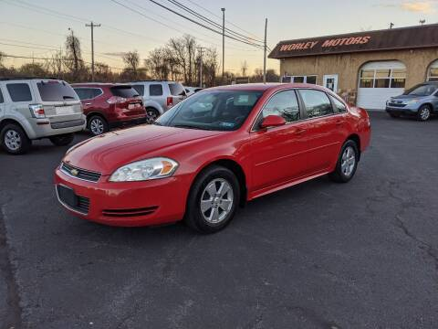 2011 Chevrolet Impala for sale at Worley Motors in Enola PA