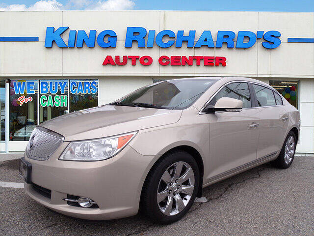 2012 Buick LaCrosse for sale at KING RICHARDS AUTO CENTER in East Providence RI