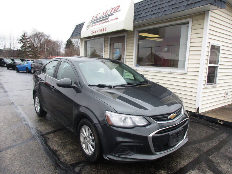 2017 Chevrolet Sonic for sale at U C AUTO in Urbana IL
