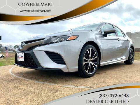 2019 Toyota Camry for sale at GoWheelMart in Leesville LA