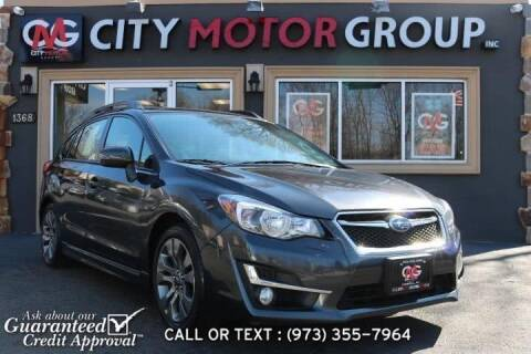 2016 Subaru Impreza for sale at City Motor Group, Inc. in Wanaque NJ