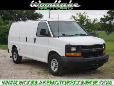 2014 Chevrolet Express Cargo for sale at WOODLAKE MOTORS in Conroe TX