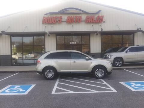 2011 Lincoln MKX for sale at DOUG'S AUTO SALES INC in Pleasant View TN