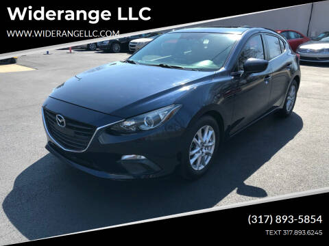 2014 Mazda MAZDA3 for sale at Widerange LLC in Greenwood IN
